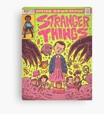 Stranger Comic Canvas Print