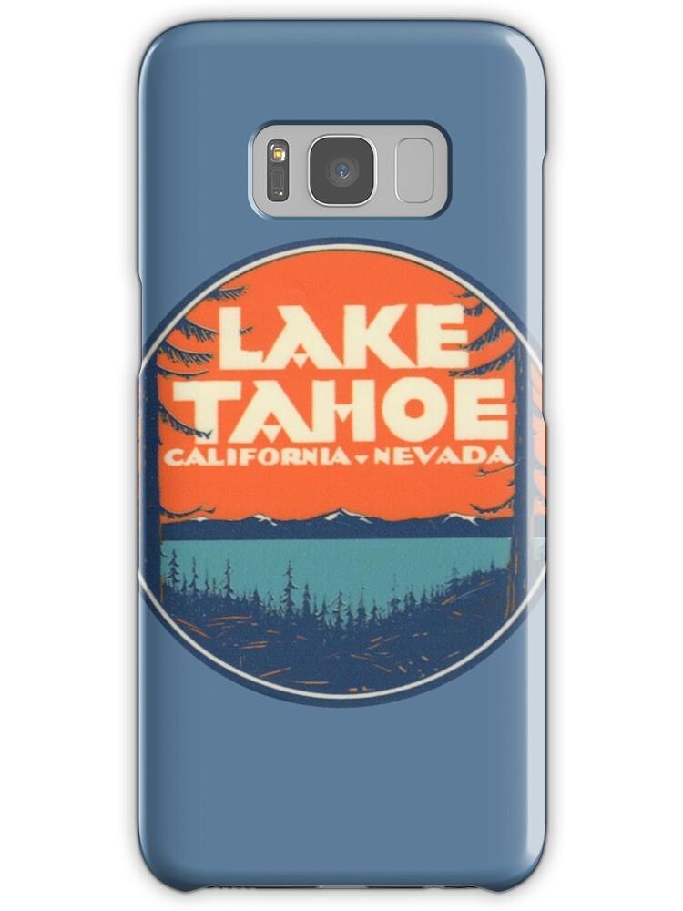 "Lake Tahoe California Galaxy Note 3 Wallpapers Hd 1080x1920: ""Lake Tahoe California Nevada Vintage State Travel Decal"