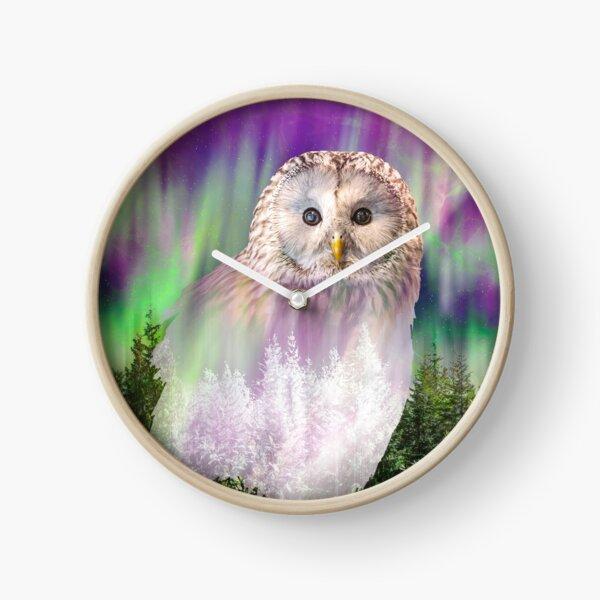 Owl's desire Clock