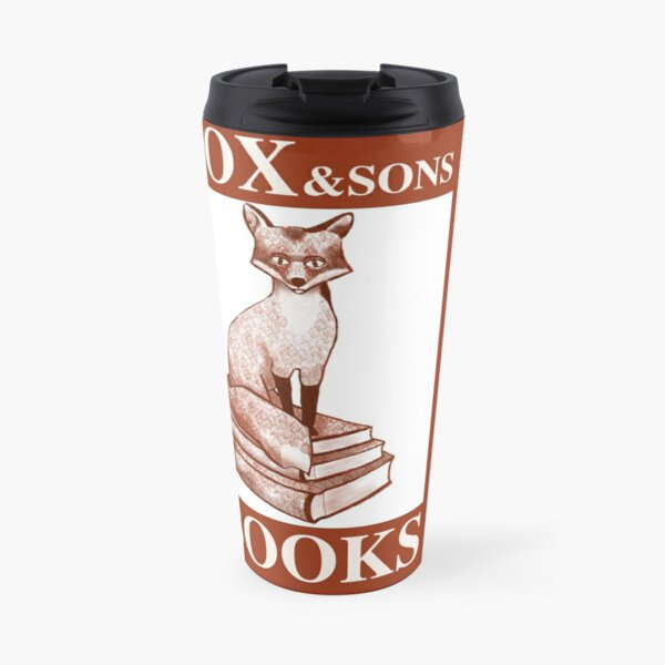 Vous avez Mil: Fox and Son's Books Mug isotherme