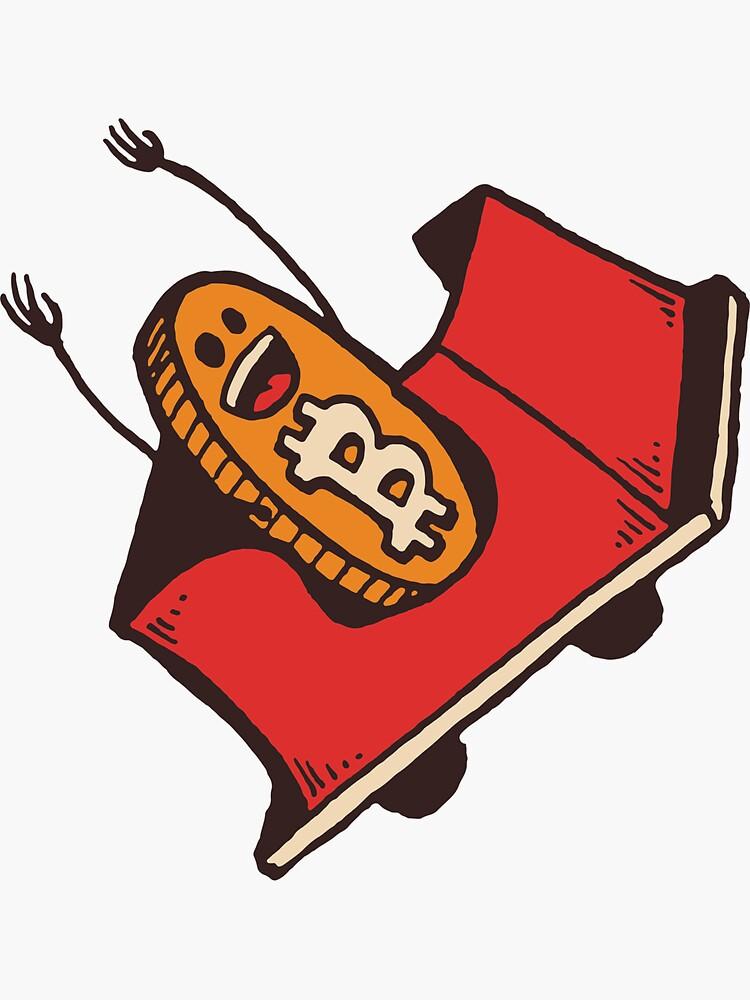 Bitcoin Roller Coaster by UNTITLEDbrasil