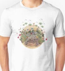 FANTASTIC BOTANICAL Slim Fit T-Shirt