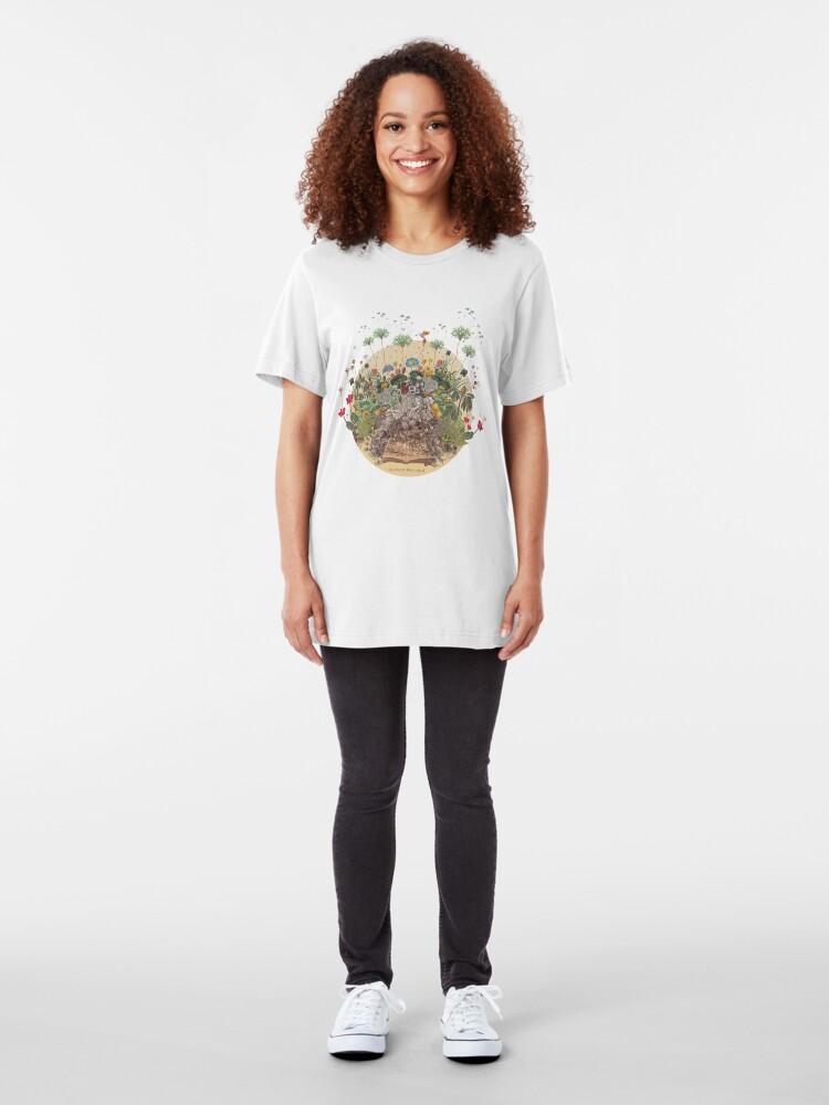 Alternate view of FANTASTIC BOTANICAL Slim Fit T-Shirt