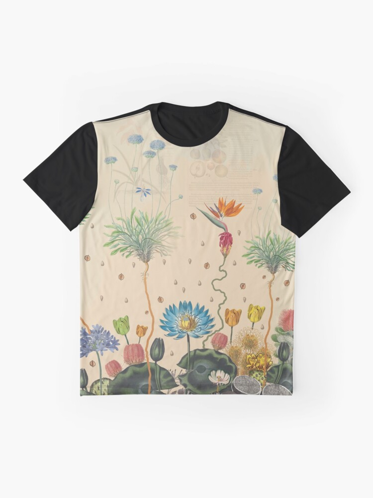 Alternate view of FANTASTIC BOTANICAL Graphic T-Shirt