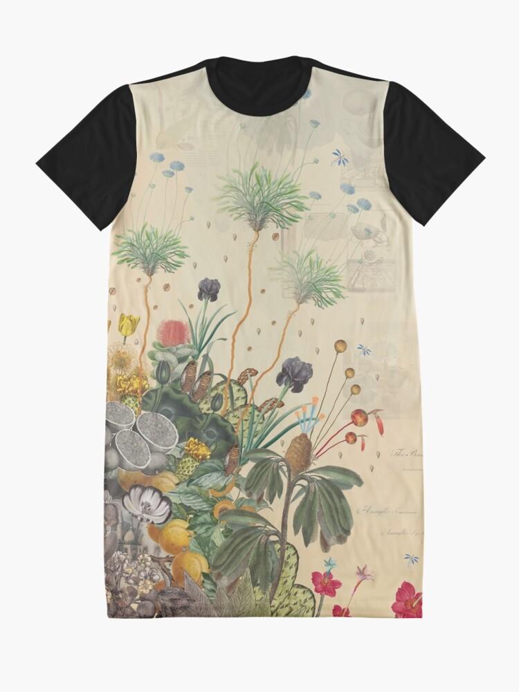 Alternate view of FANTASTIC BOTANICAL Graphic T-Shirt Dress
