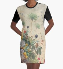 FANTASTIC BOTANICAL Graphic T-Shirt Dress