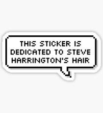Steve Harrington's Hair Sticker
