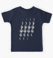 Moon Phases Kids Clothes