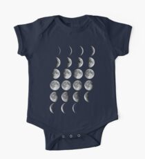 Moon Phases One Piece - Short Sleeve