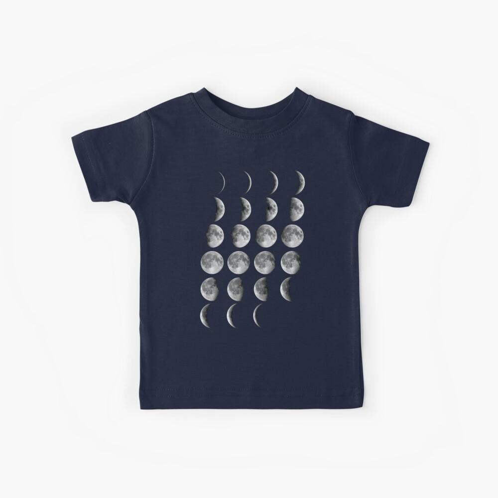 Fases de la luna Camiseta para niños
