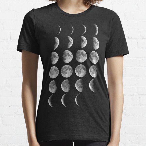 Phases de lune T-shirt essentiel
