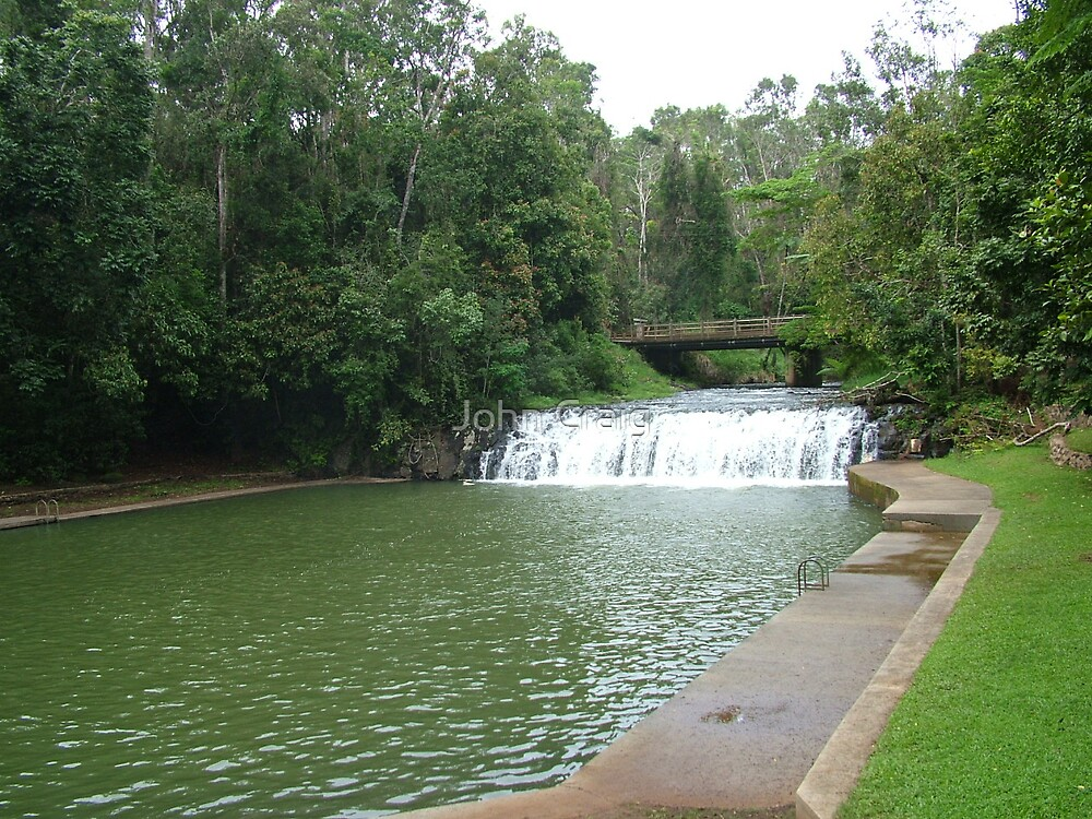 Malanda Falls by John Craig