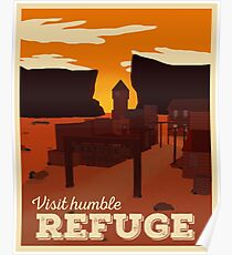 Refuge Travel Poster Poster