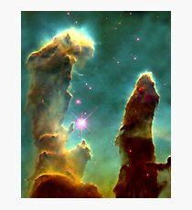 Pillars of Creation Hubble Photographic Print