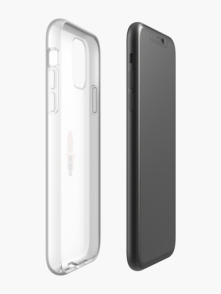 aimant iphone , Coque iPhone «Autocollant de pompe de Lil», par dyablade