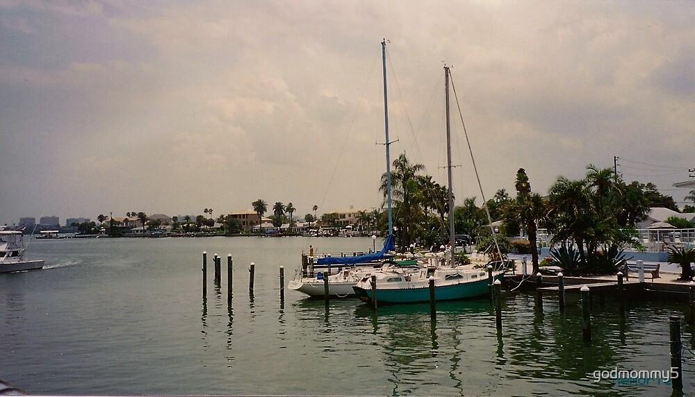 Floridian Boat Dock by godmommy5