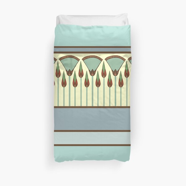 Papyrus Thicket Duvet Cover