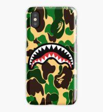 Army Shark Bape iPhone Case