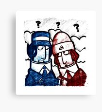 GGGs - Digit and Scooter Canvas Print