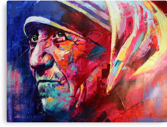 Mother Teresa by Jos Coufreur