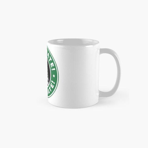 Caffeinate! Exterminate! Classic Mug