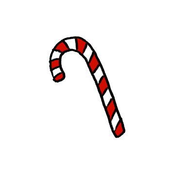 Candy Cane  by Bundjum