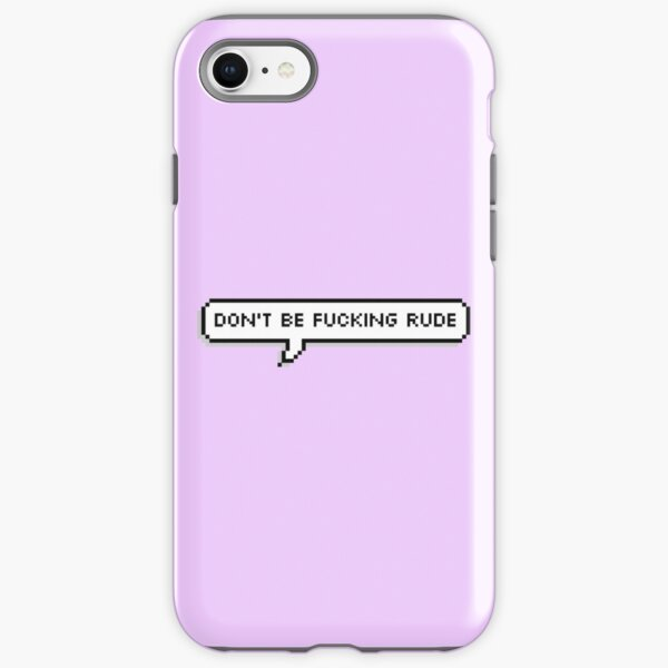 Rude iPhone Tough Case