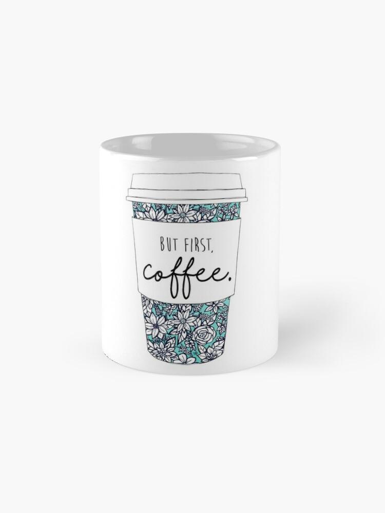 Alternative Ansicht von Blumenkaffee Tasse