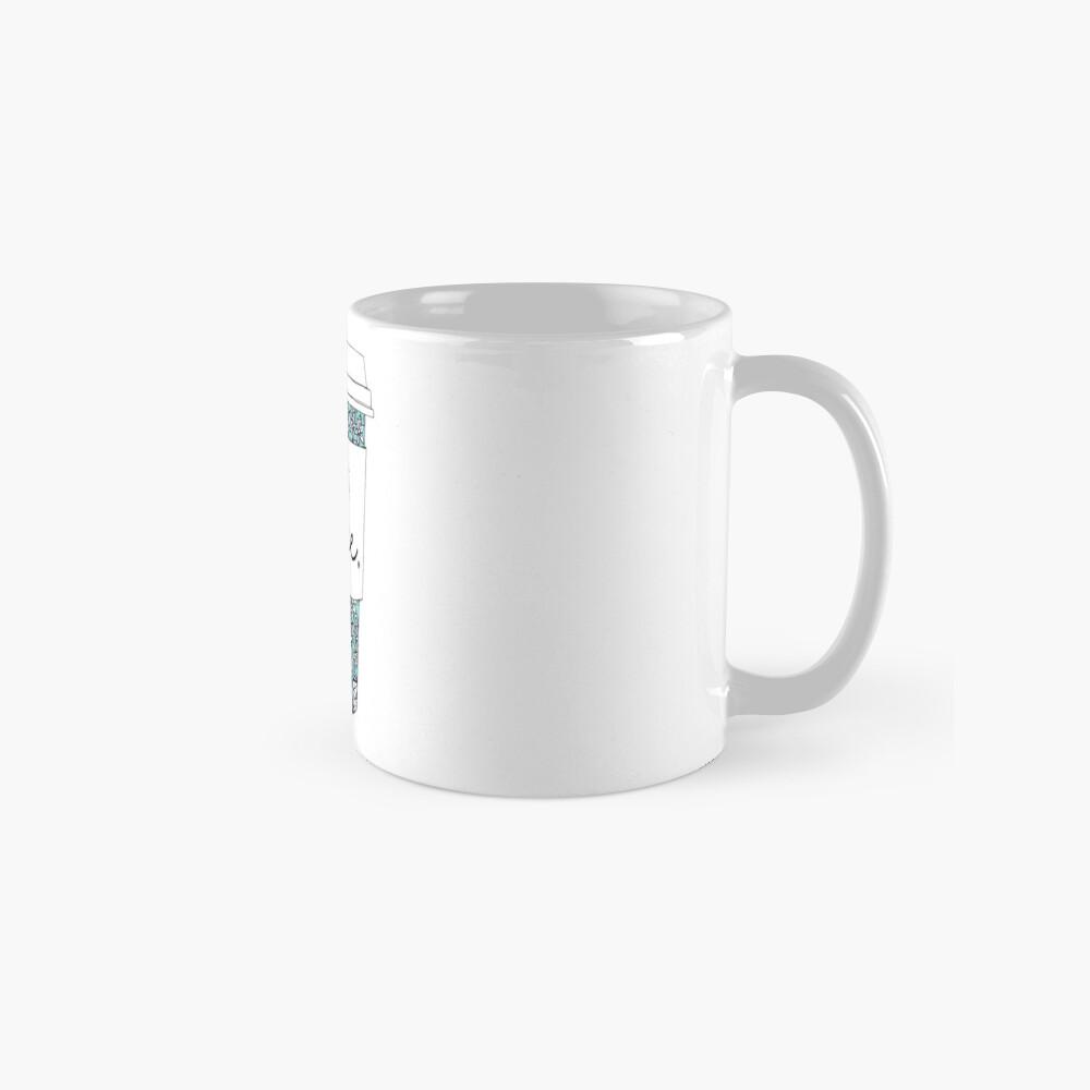 Blumenkaffee Tasse