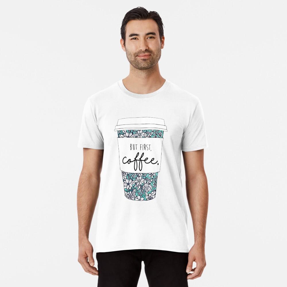 Blumenkaffee Premium T-Shirt