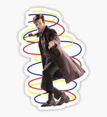 11th doctor - Doctor who Sticker