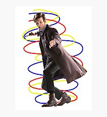 11th doctor - Doctor who Photographic Print