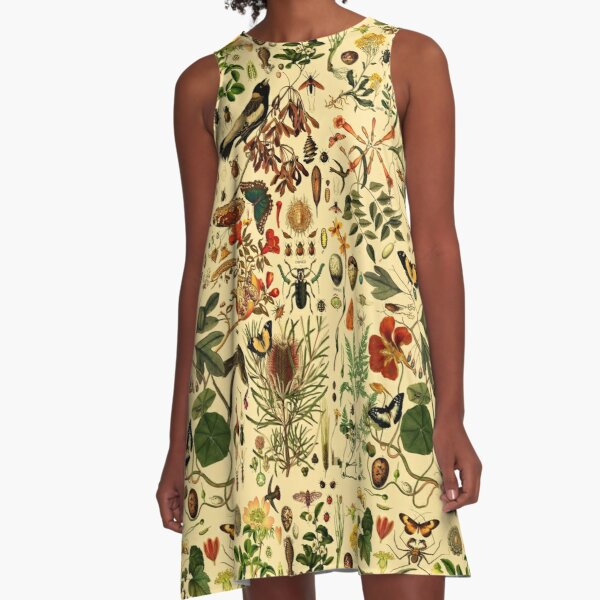 Biology 101 WARM A-Line Dress