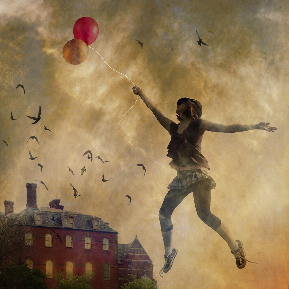fly me with balloons by Chopak