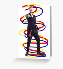 12th doctor - Doctor Who Greeting Card