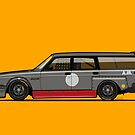 Volvo 240 245 Time Attack Track Wagon by Tom Mayer