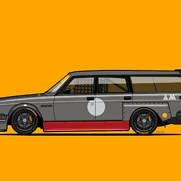 Volvo 240 245 Time Attack Track Wagon by monkeycom