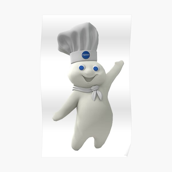 Pillsbury Doughboy Poster