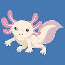 Cute Axolotl by Veronica Guzzardi