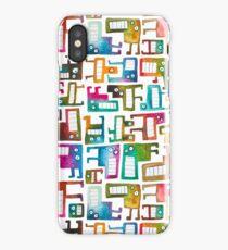 Tetris Monster Pattern iPhone Case/Skin
