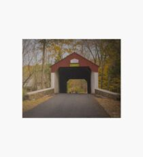 Cabin Run Covered Bridge Art Board