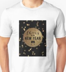 Cheers Happy New Year Eve Unisex T-Shirt
