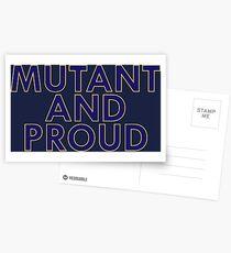 Mutant Pride Postcards