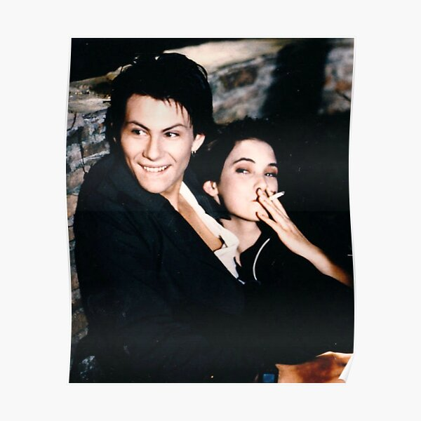 Heathers - Winona Ryder and Christian Slater Poster