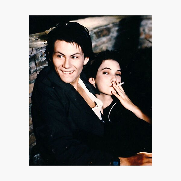 Heathers - Winona Ryder and Christian Slater Photographic Print
