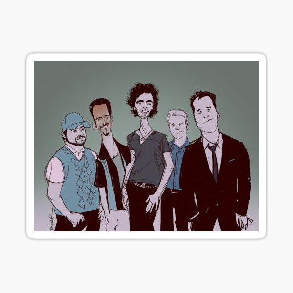Entourage Sticker