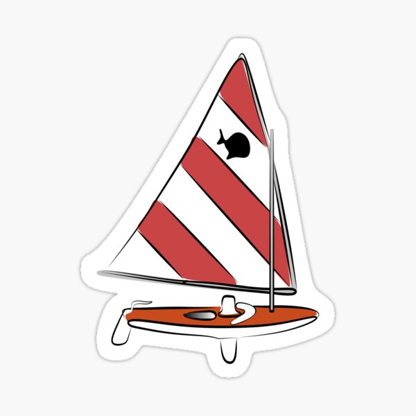 Sunfish Solo Sticker