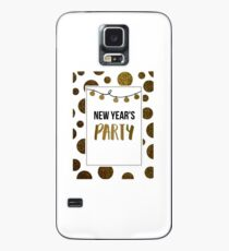 Happy New years party  Case/Skin for Samsung Galaxy