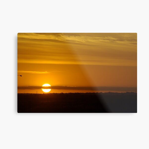 Avalon Sunset Metal Print