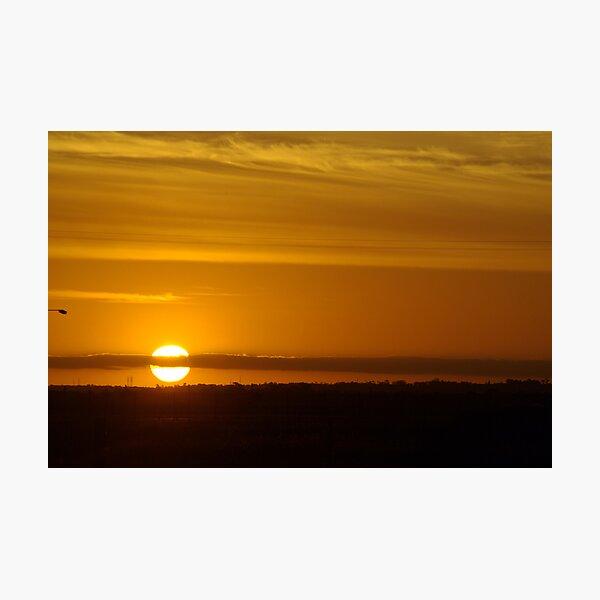 Avalon Sunset Photographic Print